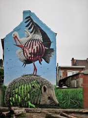 Cee Pil / Gasmeterlaan - 20 mei 2019 (Ferdinand 'Ferre' Feys) Tags: gent ghent gand belgium belgique belgië streetart artdelarue graffitiart graffiti graff urbanart urbanarte arteurbano ferdinandfeys ceepil