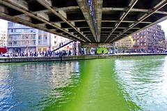 531 Paris en Mars 2019 -sous le Pont du Chemin de Fer de la Petite Ceinture, Quai de l'Oise le long du canal de l'Ourcq à La Villette (paspog) Tags: paris france canal mars march märz canaldelourcq pont bridge brücke