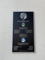 New Metrorail Fleet 2017 Plaque Government Center Downtown Miami (Phillip Pessar) Tags: new metrorail fleet 2017 plaque government center downtown miami