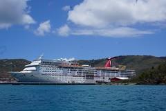 Carnival Fascination (vmi63) Tags: cruiseship usvirginislands saintthomas charlotteamalie