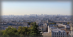 From the top of Montmartre (elianek) Tags: paris europe france montmartre panoramic view wideangle grandeangular frança europa panoramica