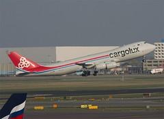 Cargolux                            Boeing 747-800                                  LX-VCB (Flame1958) Tags: cargolux boeing747 boeing b747 747 b747800 lxvcb ams 230315 0315 2015 8000