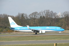 PH-BXC KLM B737-800 (Vernon Harvey) Tags: edinburgh edi phbxc boeing 737 klm