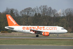 G-EZBD Easyjet A319 (Vernon Harvey) Tags: edinburgh edi gezbd airbus a319 easyjet
