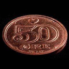 Macro Mondays | Copper (ralf.st) Tags: makro dänemark copper coppercoin münze ralfstamm sigma105mm macromondays kupfer macro kupfermünze coin 2019 50øre danmark