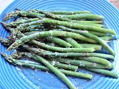 Asparagus (knightbefore_99) Tags: asparagus asperges green vert verde veggie tasty delicious yummy food dinner spears salt pepper butter bc local