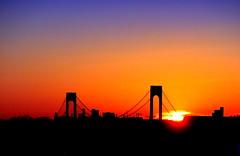 New York Sunset (dimaruss34) Tags: newyork brooklyn dmitriyfomenko image sky skyline sunset