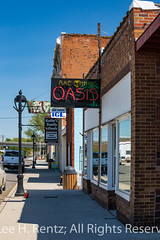 Rae Lynn's Oasis in Sprague, Washington (Lee Rentz) Tags: highway10 hoodooville johnwsprague lincolncounty northpacifichighway pacificnorthwest raelynnsoasis sprague sunsethighway washington washingtonstate america atmosphere authentic bar cafe charming city cool diner easternwashington ghosttown hamlet historic ice local locals lonely neon northamerica northwest nostagia nostagic palmtree pooltable quiet remote restaurant settlement sign sleepy smalltown street tavern town usa vertical village vintage