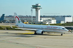 RAM Royal Air Maroc CN-ROB Boeing 737-8B6 Winglets cn/33060-1646 @ LFPO / ORY 06-03-2015 (Nabil Molinari Photography) Tags: ram royal air maroc cnrob boeing 7378b6 wl cn330601646 lfpo ory 06032015 winglets