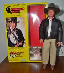 Kenner Indiana Jones Washed (trev2005) Tags: kenner indiana jones doll action figure 12 inch vintage