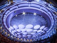 Royal Albert Hall (amipal) Tags: 75mm uwa architecture capital city curve england fisheye gb greatbritain london manuallens royalalberthall samyang uk unitedkingdom urban