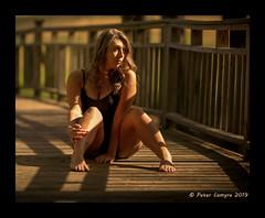 Quabbin Bridge (Peter Camyre) Tags: early morning sunrise wooden quabbin bridge may 18 2019 peter camyre photography female model posing