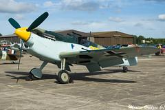 HA-1112-(G-AWHK) (Martin Bridges Photography) Tags: duxford flyinglegends warbird aircraft aviation planes nikon nikkor raf me109 ha1112 battleofbritain