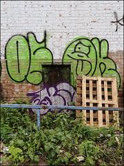 Ofske / Oker (Alex Ellison) Tags: name name26 smc dds oker gsd ofske lwi southlondon urban graffiti graff boobs