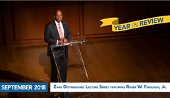 September 2018 - Zarb Distinguished Lecture Series Featuring Roger W. Ferguson, Jr. (hofstrauniversity) Tags: hofstrauniversity year review 2018 2019
