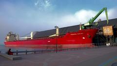 002 -1hmsvibfwlconcrp (citatus) Tags: freighter bulk carrier federal sakura marshall islands flag moored redpath sugar refinery toronto harbour harbor canada sunny spring morning 2019 pentax k1 ii ship