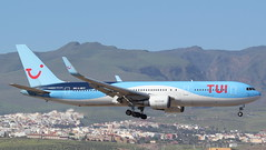 G-OBYF (GSairpics) Tags: gobyf boeing boeing767 b767 b763 tui tuifly widebody aircraft aeroplane airplane jet jetliner airline airliner aviation transport travel airport lpa gclp laspalmasairport grancanaria canaryislands spain