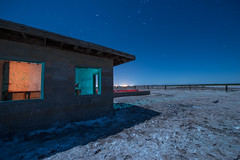 Changing Cold To Hot (Nocturnal Kansas) Tags: night nocturnal moon protomachines led1 flashlight d800 nikon nightphotography lightpainting longexposure california spa sea salton