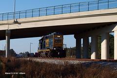 171118_01_CSXT6095_wldwd (AgentADQ) Tags: csx transportation train trains railfanning florida sline gp402 locomotive railroad diesel
