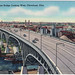 Main Avenue Bridge Looking West, Cleveland, Ohio (Date Unknown)