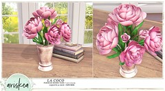 Saturday Sales - Ariskea - La Coco (ariskea) Tags: decor roses flowers cute deco ariskea secondlife new saturday sales