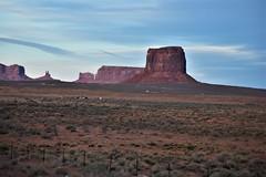 WEST MITTEN (SneakinDeacon) Tags: monumentvalley arizona ushighway163 scenic drivelandscapered rocks butte mesa