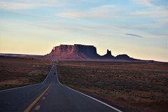ROAD TO MONUMENT VALLEY (SneakinDeacon) Tags: monumentvalley arizona ushighway163 lonesomehighway roadlesstraveled scenic drivelandscapered rocks butte mesa