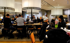 Dining section (A. Wee) Tags: sweden 瑞典 stockholm 斯德哥尔摩 arlanda airport arn 机场 sas scandinavianairlinesystem 北欧航空 lounge