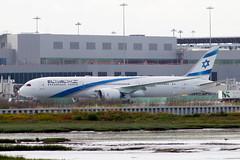 El Al 787 at SFO (photo101) Tags: boeing 787