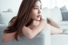 Pattaravadee (Francis.Ho) Tags: pattaravadee thai xt2 fujifilm girl woman female femme lady portrait people beauty pretty lips eyes hair face elegant glamour young sensuality fashion naturallight fashionable attractive stylish sofa pajamas lingerie body sexy panties underwear lace skin erotic