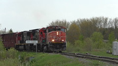 CN 323 Cantic, QC (MaineTrainChaser) Tags: trains train cn cn323 quebec north northbound
