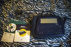 dana (Ke7dbx) Tags: alphasmart dana palmos alphasmartdana writing gadgets computers writers tech technology goodwill bremerton washington pugetsound finds thrifting palm