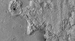 Rough-Looking (sjrankin) Tags: 21may2019 edited nasa grayscale esp0505271830 mars mro marsreconnaissanceorbiter landscape