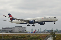 Delta Airlines A350-941 (N508DN) LAX Approach 1 (hsckcwong) Tags: deltaairlines a350941 a350900 a350 blge lax klax