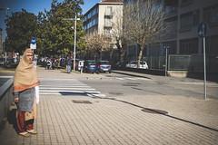 Salvini's secret housekeeper. Torino, February 2019. (joelschalit) Tags: turin torino italy italia piedmont piemonte europe europeanunion eu immigration migrants refugees diversity multiculturalism racism antiracism streetphotography street journalism photojournalism minorities documentary women people fujifilm x100f fujix fujifilmx100f