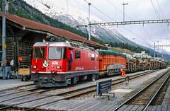 20020926-014 Rhätische Bahn (Wim van der Ent) Tags: rhätischebahn rhb samedan graubünden zwitserland dieschweiz