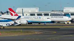 Sydney Airport (greenyones) Tags: rex regional express saab 340b vhkrx xiamen air boeing 787800 dreamliner qantas airbus a330300 vhqpi