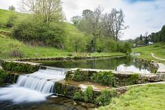Weir - Youlgrave. (Kingsley_Allison) Tags: youlgrave peakdistrict derbyshire bakewell riverbradford walkers ramblers weir nikon d7200 bradforddale