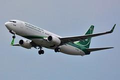 (ORY) IRAQI Airways Boeing 737-800 YI-ASF Takeoff runway 24 (dadie92) Tags: orly lfpo iraqi iraqiairways yiasf takeoff bagdad boeing boeing737 boeing737800 spotting aircraft airplane nikon d7100 sigma 150500 tamron danieldanel