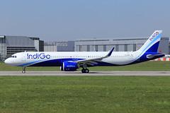 IndiGo  Airbus A321-271NX D-AYAK (VT-IUD) (widebodies) Tags: hamburg finkenwerder xfw edhi widebody widebodies plane aircraft flughafen airport flugzeug flugzeugbilder indigo airbus a321271nx dayak vtiud