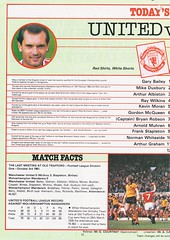Manchester United vs Wolverhampton Wanderers - 1983 - Page 12 (The Sky Strikers) Tags: manchester united wolverhampton wanderers wolves canon league division one review official season programme old trafford 30p