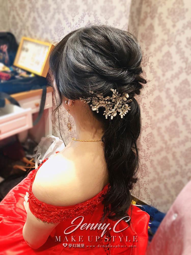 【新秘蓁妮】bride茶茶 訂結婚造型 / 台中北海岸婚宴會館