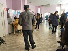 IMG_7341 (Бесплатный фотобанк) Tags: россия краснодар поликлиника очередь регистратура толпа медицина медицинская клиника