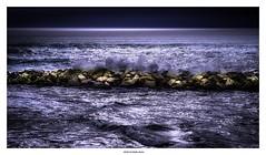 When The Levee Breaks... (michel di Méglio) Tags: mer sea marseille olympus zuiko lightroom