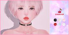 🍒 CHERRYISH @Flora Event (Koharuna) Tags: cherryish floraevent flora hanachoker choker secondlife accessories