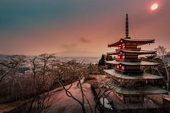 Chureito Pagoda (no Fuji) (nat_panviroj) Tags: japan