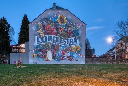 L'Orchestra mural in Kahler