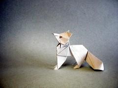 Artic Fox - Oriol Esteve (Rui.Roda) Tags: origami papiroflexia papierfalten renard zorro raposa artico artic fox oriol esteve