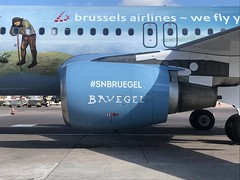 Brussels Airlines (Belgian Icons Livery) Airbus A320-214 OO-SNE (josh83680) Tags: manchesterairport manchester airport man egcc airbus airbusa320214 a320214 airbusa320200 a320200 belgian icons livery belgianicons belgianiconslivery brussels airlines brusselsairlines