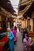 fruit market (paologmb) Tags: tradition market islam morocco danslarue medina muslims traveling shopping woman history leicamtyp240 art maghreb city life colors